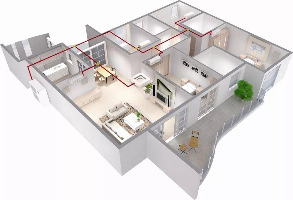 Система кондиционирования для квартиры