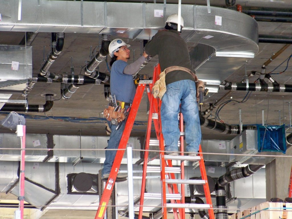 Монтаж воздуховодов правила монтажа и схемы установки