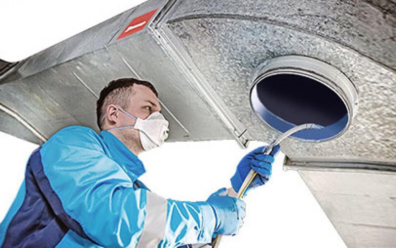Очистка системы вентиляции