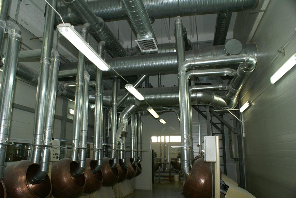 Системы очистки воздуха промышленные в наличии с доставкой по Москве